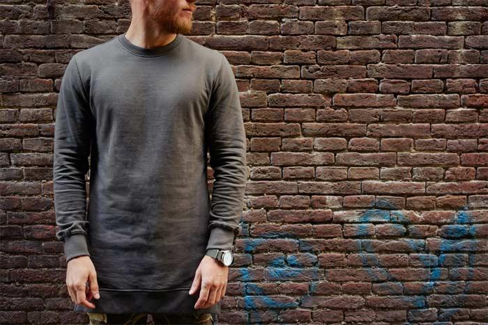 Man longline T-shirt