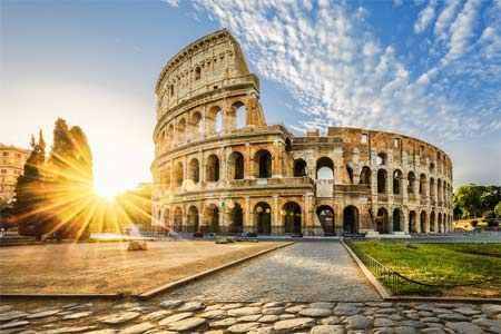 The Roman Colosseum (Rome)