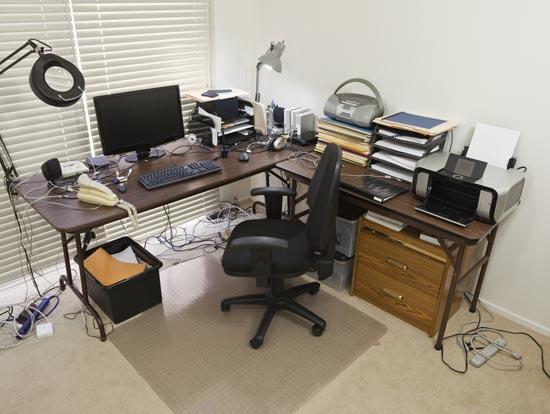 how to make a corner desk with bookshelves