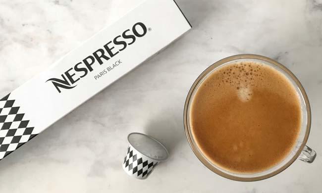 Variety of Nespresso pods