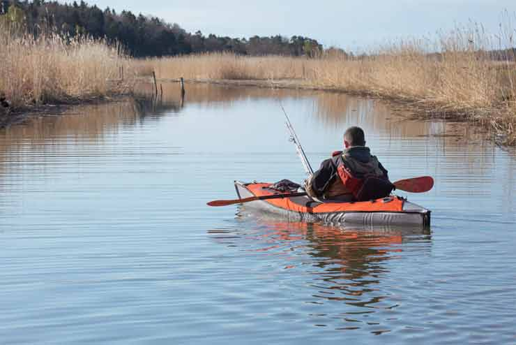 how to set up a kayak for fishing