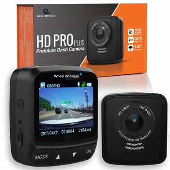 WheelWitness Dash Cam HD PRO Plus