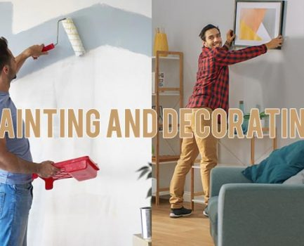 What is The Difference Between Painting and Decorating?